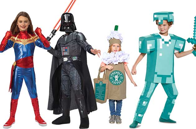 These are the 21 Most Popular Halloween Costumes for Kids This Year