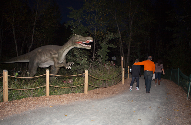 What to Expect at Dinosaurs After Dark at Field Station: Dinosaurs in Leonia, NJ