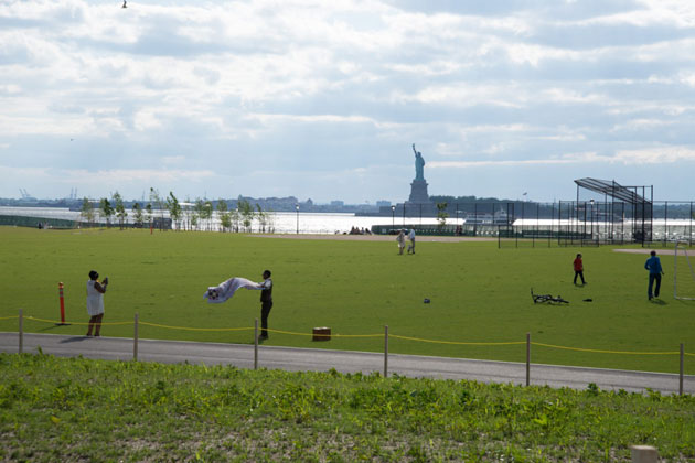 This Summer 'Glamping' is Coming to Governors Island