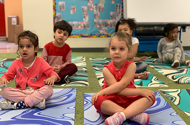 Child Care Center in Astoria Now Offering Yoga for Kids