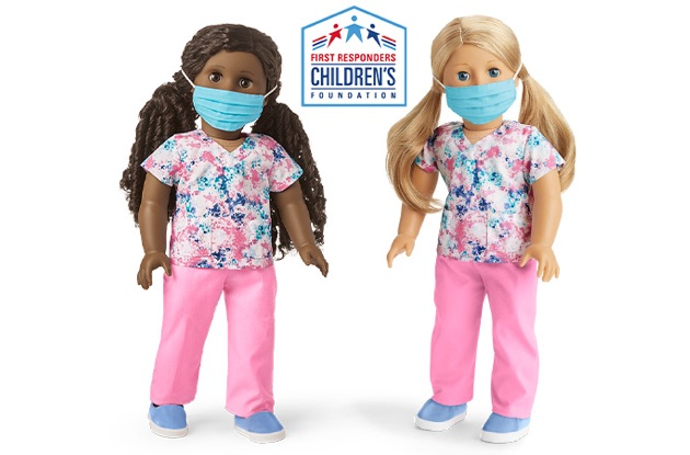 American Girl Scrubs Outfit Sales Benefit First Responders Children's Foundation