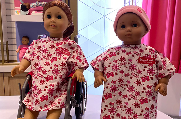 Your Child's American Girl Doll Can Receive Check-Ups at the American Girl Place in NYC