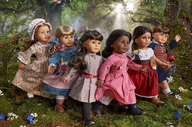 American Girl Brings Back Original Six Characters