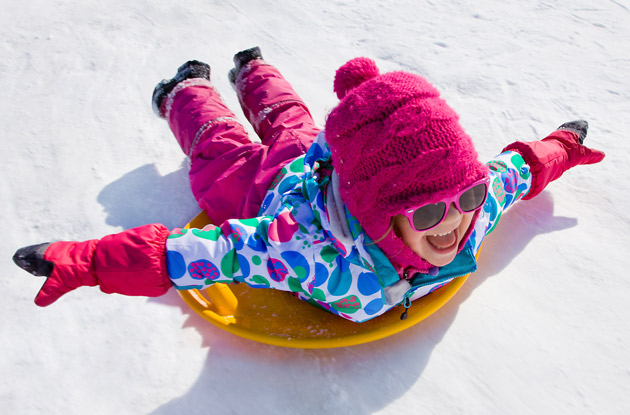Where to Go Sledding in the NYC Area