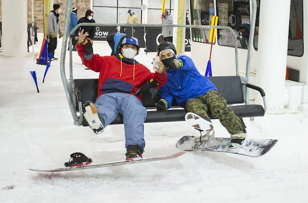America's Only Indoor Ski Resort Opens at American Dream
