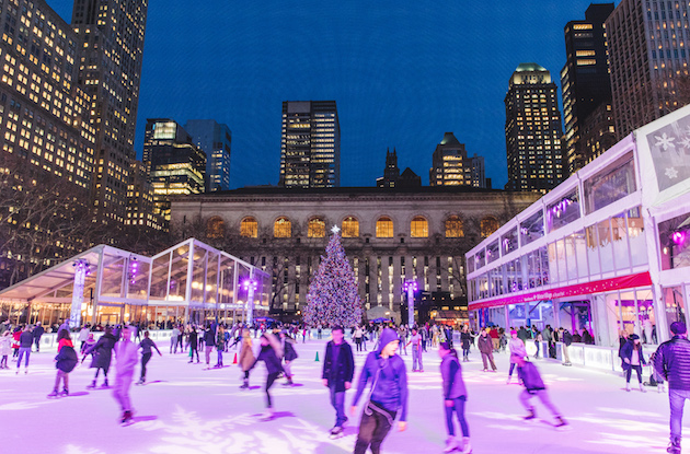 The Winter Village at Bryant Park is Open for the Season