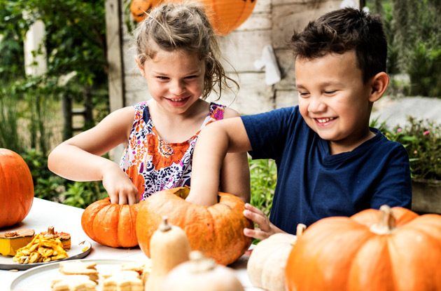 This is How to Carve Pumpkins with Kids