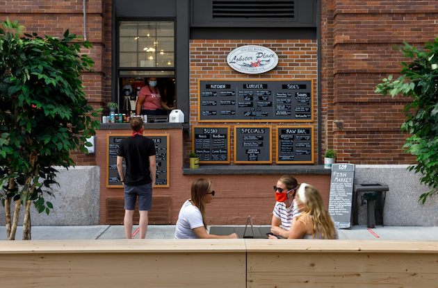 Chelsea Market Reopens with Outdoor Dining and Shopping Experiences