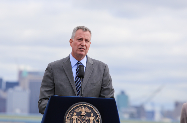 Mayor Bill de Blasio Announces Free Childcare for 100,000 NYC Students