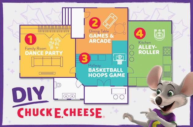 How to Turn Your Home into Chuck E. Cheese