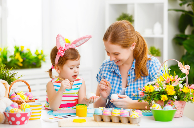 12 Easy and Fun at Home Easter Crafts for Kids