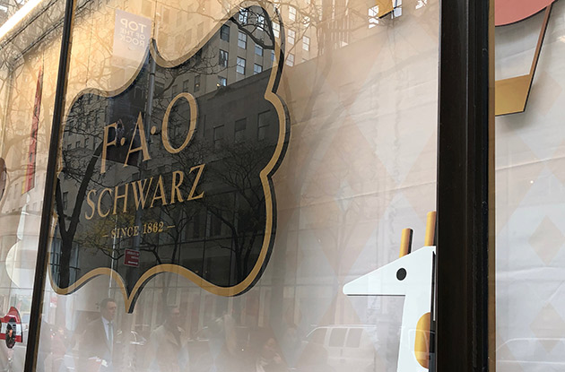 FAO Schwarz at Rockefeller Center Has Reopened