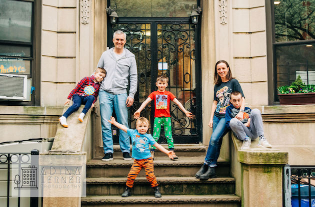 The Front Steps Project Captures Brooklyn Families to Benefit Covid Relief Funds