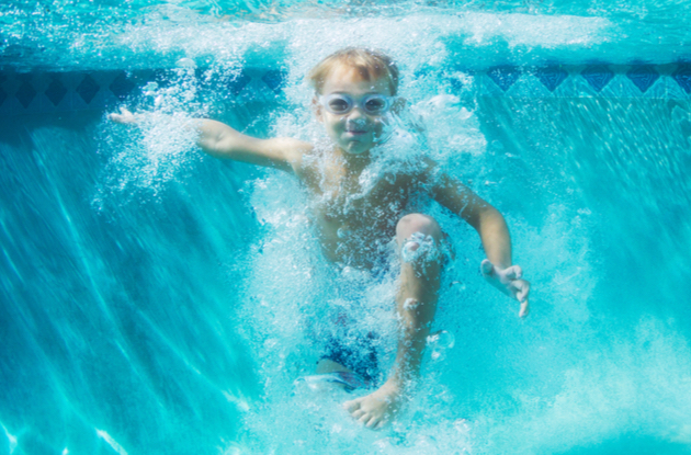 Ask @DadandBuried: How Can I Help My Child Get the Courage to Dunk His Head When Swimming?