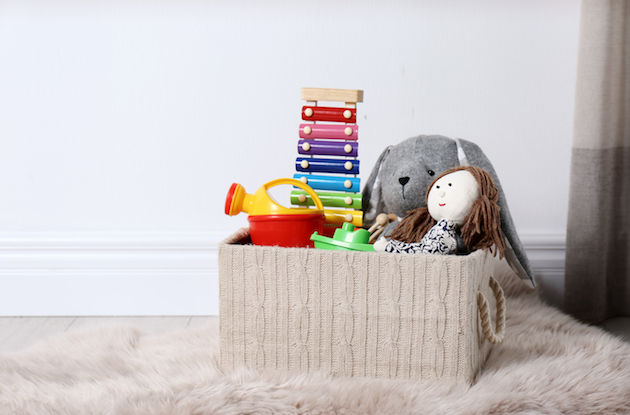 9 Easy Ways to Organize Toys