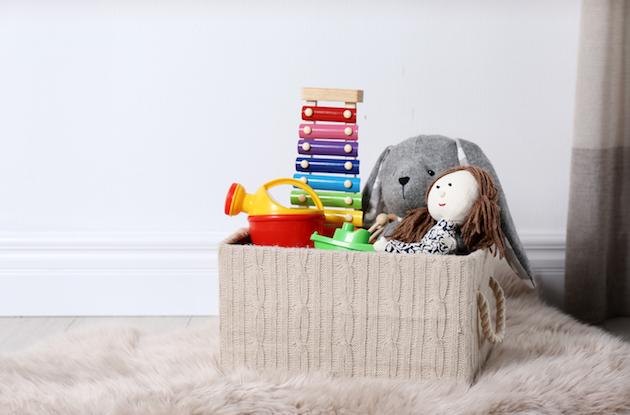 9 Easy Ways to Organize Toys