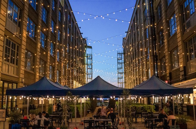 NYC's Largest Heated Outdoor Dining Experience Opens in Industry City