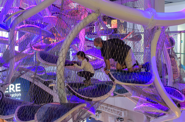 The Best Way to Visit the Liberty Science Center Right Now