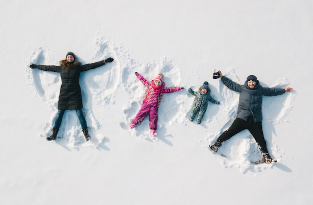 This is How to Keep Kids Active in the Winter