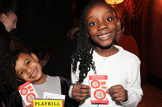 Kids Can See Broadway Shows for Free on February 25, 2020