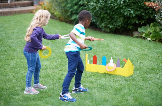 How to Make a Cardboard Ring Toss