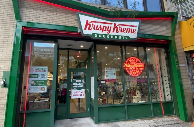 You Can Get Fresh, Hot Doughnuts at the Harlem Krispy Kreme