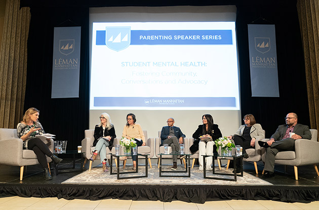 Léman Preparatory School Hosts Panel on Student Mental Health