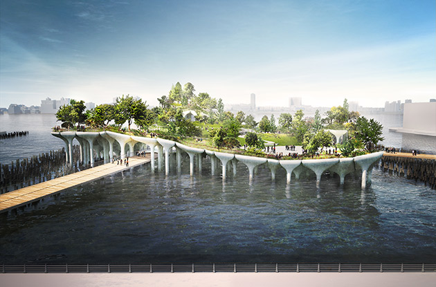 NYC's Newest Park Named 'Little Island' and Will Open in Spring 2021