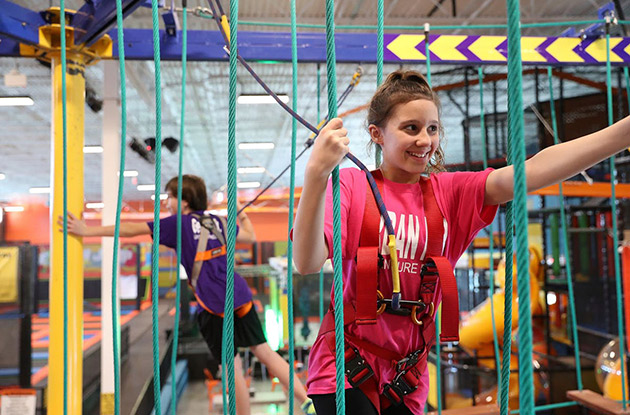 Urban Air Indoor Adventure Park Opens in Lake Grove