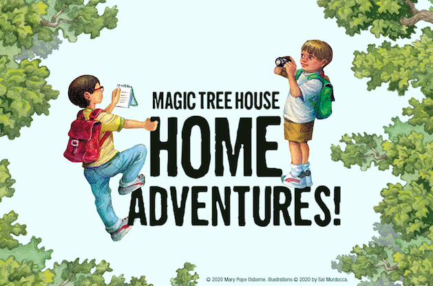 Random House Children's Launches Magic Tree House Adventures Educational Activity Hub
