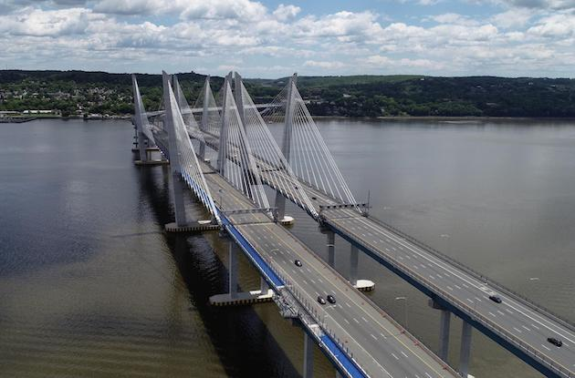 Bike and Pedestrian Path Opens Along the Governor Mario M. Cuomo Bridge