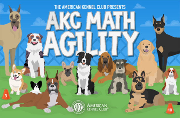 American Kennel Club Launches Dog-Focused Math App for Kids