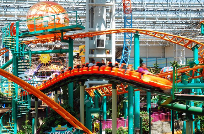 Nickelodeon Universe Theme Park Opens on October 1