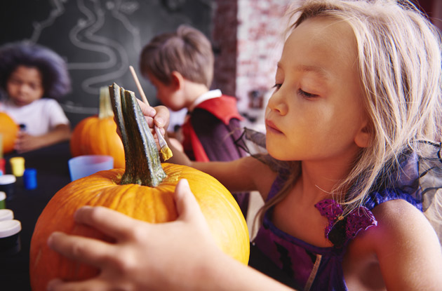No-Carve Pumpkin Ideas for Kids