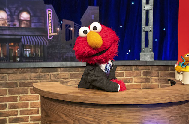 The Not-Too-Late Show with Elmo Will Make Bedtime Fun with Celebrity Guests