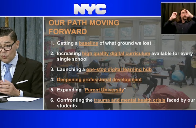 NYC Schools Announce Plan to Close COVID-19 Achievement Gaps