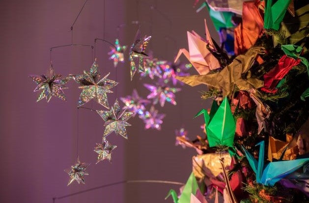 The American Museum of Natural History's Origami Tree is Now on Display