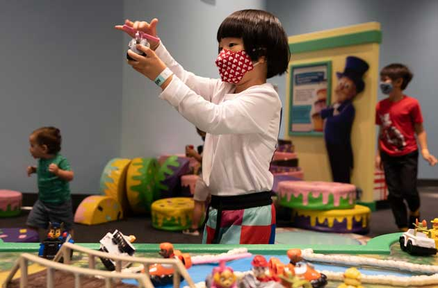 Liberty Science Center's New PAW Patrol Exhibit Delights Younger Kids
