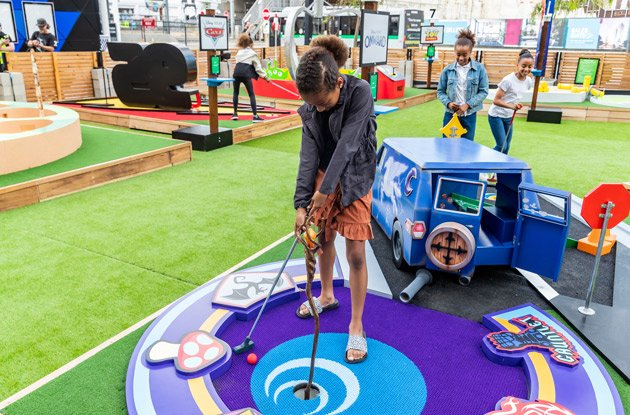 Pixar-Themed Mini Golf Course Pop-Up Coming to Lower Manhattan This Summer