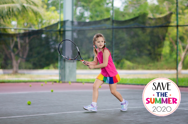 This is How to Safely Play Tennis this Summer