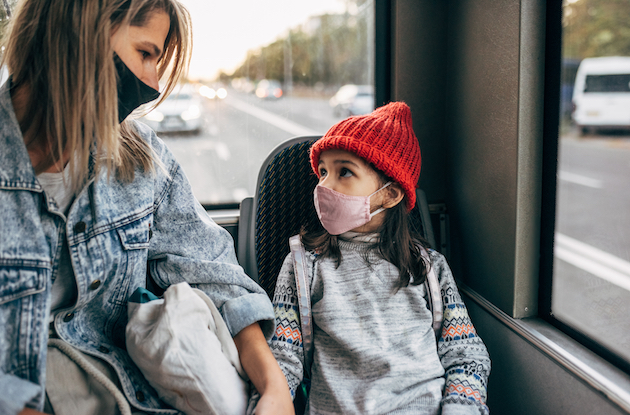 6 Tips & Tricks for Riding NYC Public Transportation with Kids