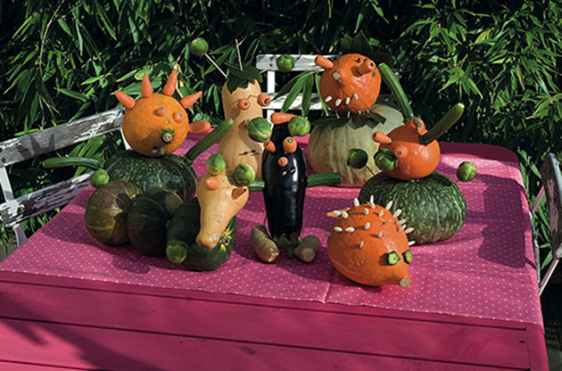 pumpkin animals