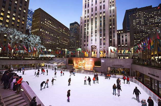 The Rink at Rockefeller Center Opens Oct. 12