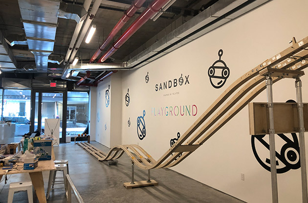 Sandbox Playground and Sandbox, Powered by Related Kids' Makerspaces Now Open in Chelsea