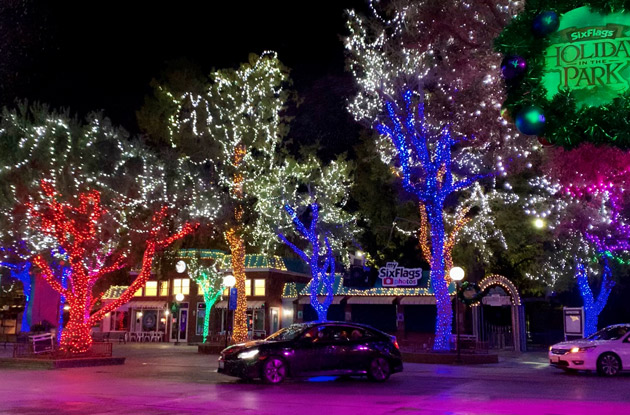 Six Flags Great Adventure Adds Drive-Thru Holiday Light Experience