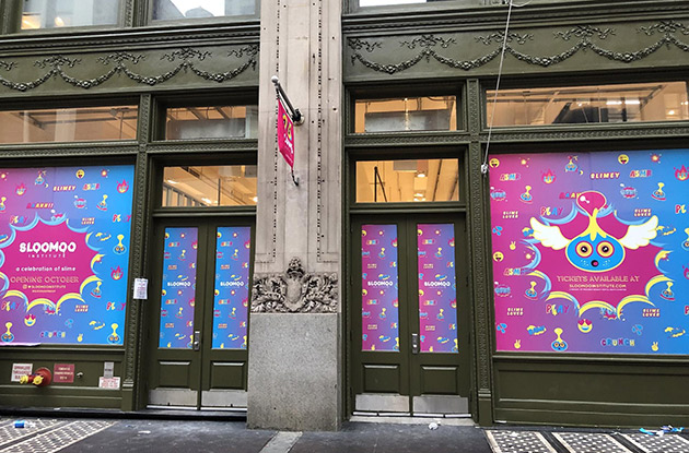 The Sloomoo Slime Institute Opens in Soho