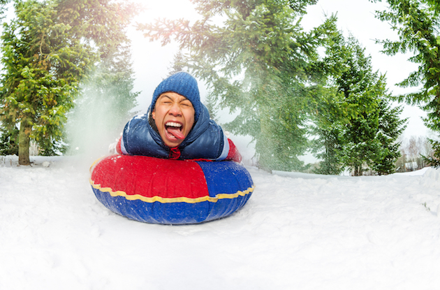 The Best Snow Tubing Near NYC for Families