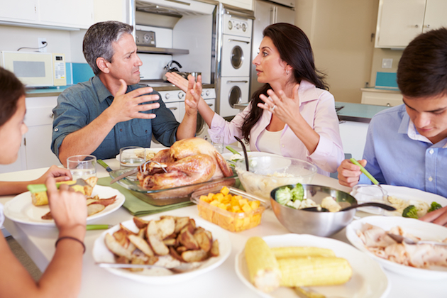 Ask @DadandBuried: How Do We Deal with Political Talk at Thanksgiving Dinner?
