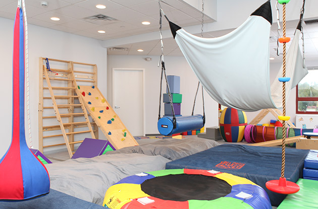 Occupational Therapist in Rye Ridge Expands Sensory Gym