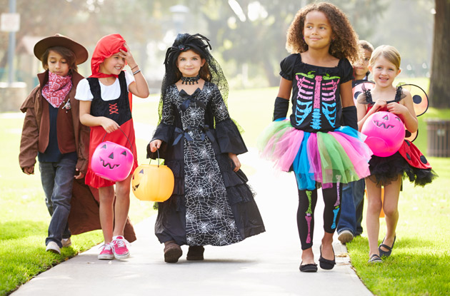 The NYPD Shares How to Keep Your Kids Safe on Halloween